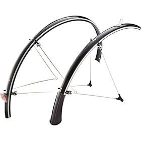 "SKS B35 Mudguard 28"" with reflector strips black"